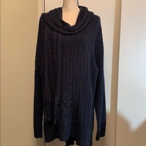 NWT Beautiful Sonoma Sweater with Matching Scarf